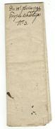 Vieux Papiers // Document Historique Et Projet De Partage - Documents Historiques