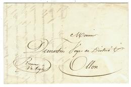 Vieux Papiers // Document Historique Destiné Au Voyer Du District De Ollon - Documents Historiques