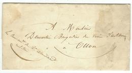 Vieux Papiers // Document Historique Destiné à Ollon - Documents Historiques
