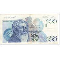 Belgique, 500 Francs, 1981-1982, KM:143a, Undated (1982-1998), TTB - [ 2] 1831-... : Reino De Bélgica