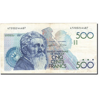 Belgique, 500 Francs, 1981-1982, KM:143a, Undated (1982-1998), TTB - 500 Frank