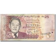 Mauritius, 25 Rupees, 1999, KM:49a, 1999, TTB - Maurice