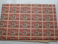 TORO - SAFETY MATCHES ( Made In Belgium ) Volledig Gevouwen Blad - Zie Foto's ! - Matchbox Labels