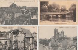 17 / 6 / 432   -   LOT  DE  20  CPA  DE  BOURGES  ( 18 )  -  Toutes Scanées - Cartoline