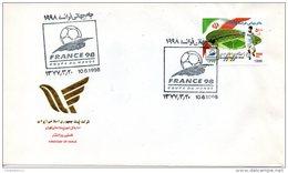 IRAN. N°2521 De 1998 Sur Enveloppe 1er Jour (FDC). Coupe Du Monde De Foot. 1998. - 1998 – Frankreich