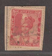 JAIPUR State  2A  Revenue  Type 39  #  96281  Inde Indien  India Fiscaux Fiscal Revenue - Jaipur