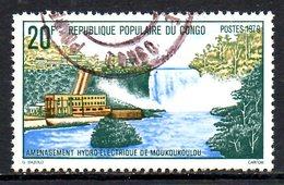CONGO. N°558 Oblitéré De 1979. Barrage Hydroélectrique. - Water