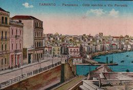 860A   TARANTO    1917        ECRITE - Altri