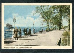 CPA - TROIS RIVIERES - Boulevard Turcotte, Animé - Trois-Rivières