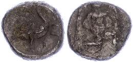 Mallos, Stater (10,35g), Ca. 425-385 V. Chr., Av: Kniende, Geflügelte Männliche Gestalt Mit Sonnenscheibe... - Antique