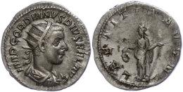 Gordianus III., 238-244, Antoninianus (4,02g), Rom, Av: Büste Nach Rechts, Darum Umschrift, Rev: Stehende... - 4. Other Roman Coins