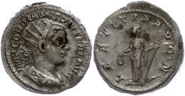 Gordianus III., 238-244, Antoninianus (5,41g), Rom, Av: Büste Nach Rechts, Darum Umschrift, Rev: Stehende... - 4. Other Roman Coins