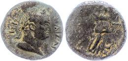 Kilikien, Anemurion, AE (8,81g), Titus, 79-81, Av: Kopf Nach Rechts, Darum Umschrift, Rev: Stehende Artemis Nach... - Roman