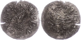 Ostgothen, Theodosius, 493-526, Im Namen Des Anastasius I., 1/4 Siliqua (0,99g), Sirmium, Av: Büste Nach... - Antique