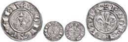 Italien, Florenz, Fiorino D'argento (1,75g), 1189-1252, Av: Lilie, Im Außenkranz Umschrift, Rev: Brustbild... - Other Coins