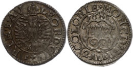 2 Albus, 1685, Mit Titel Leopolds I., Noss 501, Kl. Prägeschwäche, Vz.  Vz2 Albus, 1685, With Title... - [ 1] …-1871 : German States