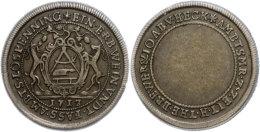 Freizeichen, Kupfer, 1713, Fassbinderzunft, Noss 571, Ss-vz.  Ss-vzDialing Tone, Copper, 1713, Cooper Guild,... - [ 1] …-1871 : German States