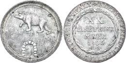 Gulden, 1806, Alexius Friedrich Christian, AKS 3, J. 50, Vz.  VzGuilder, 1806, Alexius Friedrich Christian, AKS... - [ 1] …-1871 : German States