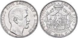 Taler, 1862, Ferdinand, AKS 172, J. 9, Ss.  SsThaler, 1862, Ferdinand, AKS 172, J. 9, Very Fine.  Ss - [ 1] …-1871 : German States
