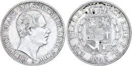 Taler, 1848, Friedrich Franz, AKS 37, J. 55, Ss.  SsThaler, 1848, Friedrich Francis, AKS 37, J. 55, Very Fine. ... - [ 1] …-1871 : German States