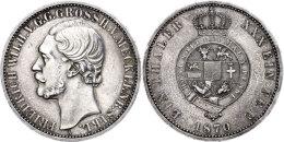 Taler, 1870, Friedrich Wilhelm, AKS 71, J. 120, Berieben, Ss.  SsThaler, 1870, Friedrich Wilhelm, AKS 71, J.... - [ 1] …-1871 : German States