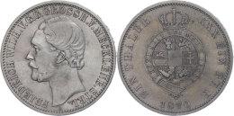 Taler, 1870, Friedrich Wilhelm, AKS 71, J. 120, Kl. Rf., Ss+.  Thaler, 1870, Friedrich Wilhelm, AKS 71, J. 120,... - [ 1] …-1871 : German States