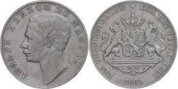 Taler, 1860, Adolph, AKS 63, J. 60, Ss.  SsThaler, 1860, Adolph, AKS 63, J. 60, Very Fine.  Ss - [ 1] …-1871 : German States