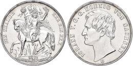Taler, 1871, Johann Auf Den Sieg Von 1871 über Frankreich, AKS 159, J. 132, Min. Berieben, Vz-st. ... - [ 1] …-1871 : German States