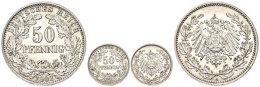 50 Pfennig, 1901, F. St., Katalog: J. 15 50 Penny, 1901, F. St., Catalogue: J. 15 - [ 2] 1871-1918 : German Empire