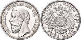 2 Mark, 1901, Friedrich I., F. St., Katalog: J. 28 2 Mark, 1901, Friedrich I., F. St., Catalogue: J. 28 - [ 2] 1871-1918 : German Empire