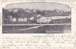 Neufchâteau - Panorama (Papeterie Nias, 1901... Pli) - Neufchâteau