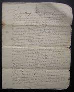 1773 Village De Chagnon, Généralité De La Rochelle Vente De Jean Gautier, Laboureur - Manuscripts