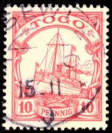 TSEWIE 15 11 10, Fast Vollständig Auf 10 Pf. Kaiseryacht, Katalog: 9 OTSEWIE 15 11 10, Nearly Completely... - Colony: Togo