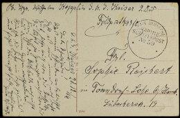 MSP No. 59 (SMS Kaiser), Glasklarer Abschlag Ohne Datum Und Jahreszahl Auf Karte, Datiert 20.12.16  BFMSP No.... - Germany