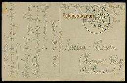 MSP No. 104 16.12.(15) (SMS Berlin)m Klar Auf Feldpostkarte, Datiert Aus Libau,  Stempel Ohne Jahreszahl  BFMSP... - Germany