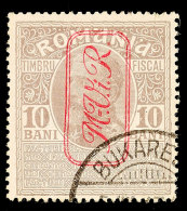 10 B Graubraun Tadellos Gestempelt, Mi. 45.-, Katalog: 6 O10 B Gray Brown Neat Cancelled, Michel 45.-,... - Germany