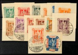 5 Pfg Bis 5 Mark Freimarken Sog. I. Sarg-Ausgabe (erste Mailänder-Ausgabe), Tadellos Gestempelt Auf... - Germany