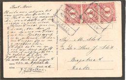 Blokstempel. Apeldoorn-Almelo VII. SP 25. Anzicht Uddelermeer - Storia Postale