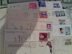 10 Card ISRAELE ISRAEL Francobolli Stamp Selo Timbre Vari Valori E Annate VB1971/2000  GD14789 - Collections, Lots & Séries