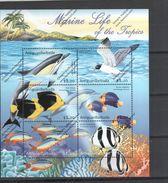 ANTIGUA BABUDA Nº 3022 AL 3027 - Fische