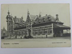 Harlebeke. - La Station - Carlier-Debrouwer. Edit. - Belgique