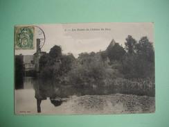 Les Ruines Du Château De SACQ  -  61  -  ORNE -   ( Menil Gondouin ) - Otros Municipios