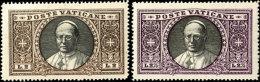 1933, 2 Und 2,75 L. Je Tadellos Postfrisch (die Beiden Werttragenden Marken Des Satzes), Mi. 340,--, Katalog: 32,... - Vatican