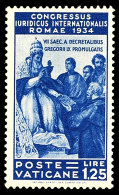 1.25 L. Juristenkongreß Tadellos Postfrisch, Mi. 250.-, Katalog: 50 **1. 25 L. Lawyer Congress In Perfect... - Vatican