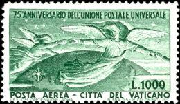 1949, 300 L. - 1000 L., 75 Jahre Weltpostverein, Mit 2 Werten Kompletter Satz, Tadellos Postfrisch, Mi. 180,-,... - Vatican