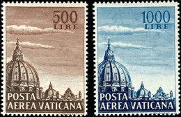 1953, Flp.-Marken Kpl. Tadellos Postfrisch, Mi. 130,--, Katalog: 205/06 **1953, Airmail Stamps Complete In... - Vatican