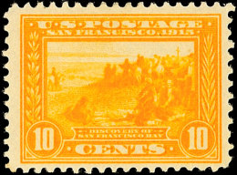 1 - 10 C. Panama-Pacific-Ausstellung Gez. L12, Komplett Ungebraucht, Mi. 220.-, Katalog: 203/06A *1 - 10 C.... - Unclassified