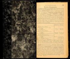 """Kohl Handbuch, 11. Auflage Ca. 1929, Badn 2, Deutsche Kriegsgebiete Und Kolonien-Buchstabe """"F"""", Alle Welt, Seltenes... - Stamps"""