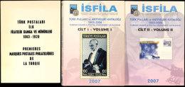 Türkei, ISFILA 2007, Marken- Und Ganzsachenkatalog Zweibändig In Farbe Und Englisch  Turkey, ISFILA... - Stamps