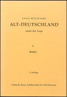 Müller-Mark, Ewald: Altdeutschland Unter Der Lupe Teil 1 Baden, 5. Auflage, Gute Gebrauchte Erhaltung ... - Stamps